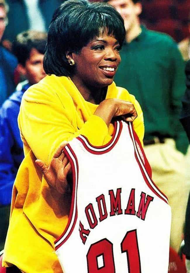 Oprah Winfrey is listed (or ranked) 3 on the list Celebrity Bulls Fans