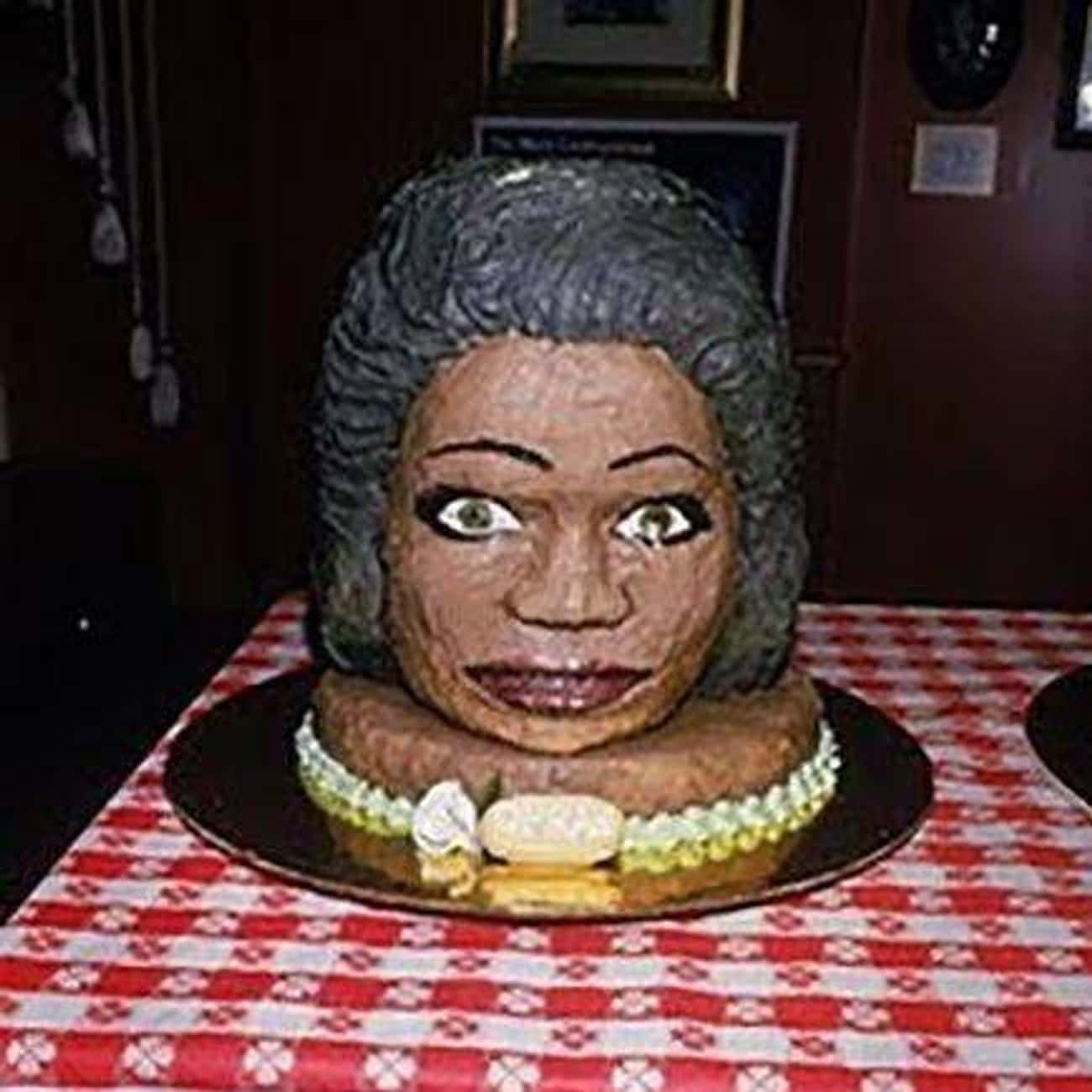 You Get an Ugly Cake! You Get  is listed (or ranked) 2 on the list 17 Celebrity Face Cakes That Don't Look Quite Right