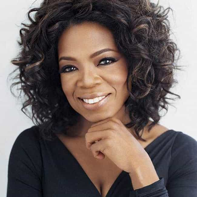 Oprah Winfrey is listed (or ranked) 1 on the list Famous Female TV Anchors
