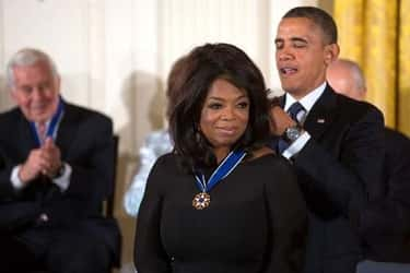 Oprah Winfrey is listed (or ranked) 2 on the list Famous Friends of Barack Obama