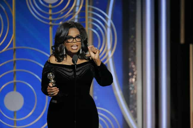 Oprah Winfrey is listed (or ranked) 1 on the list All The Celebrities Who Have Publicly Spoken About Running For President