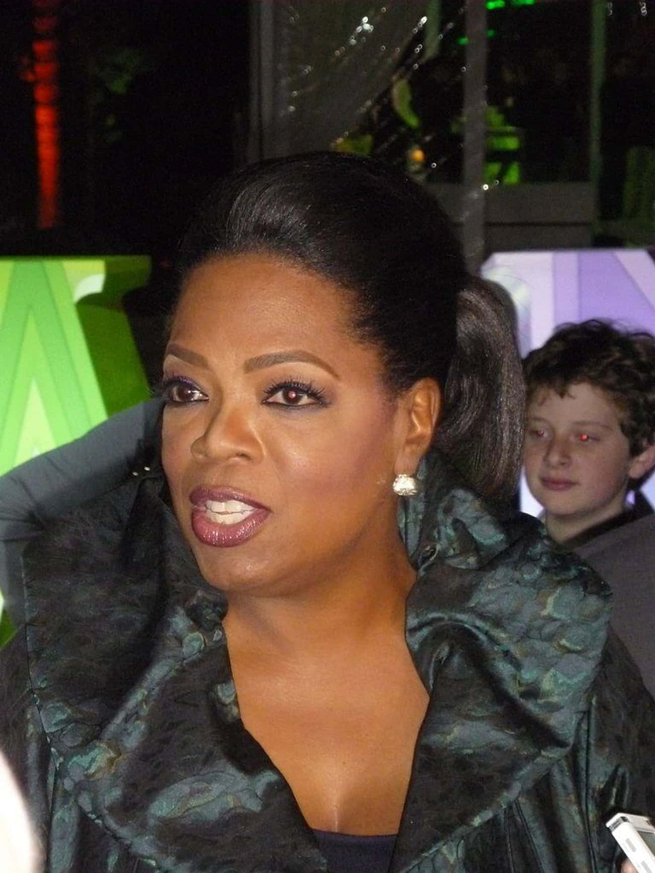 Oprah Winfrey is listed (or ranked) 3 on the list 14 Celebrities Born to Teenage Parents