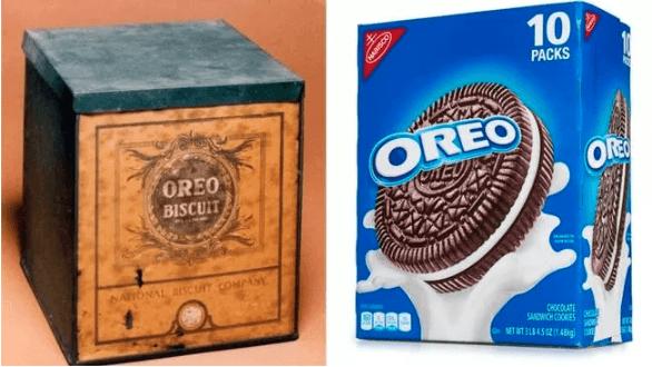 Random Processed Food Packaging Used To Look Lik