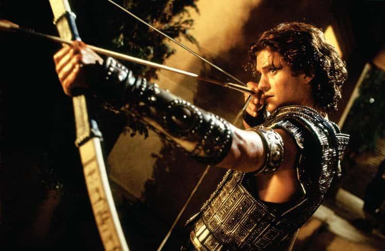Orlando Bloom In 'Troy'