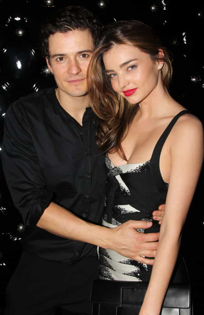 Orlando Bloom is listed (or ranked) 4 on the list Miranda Kerr Loves and Hookups