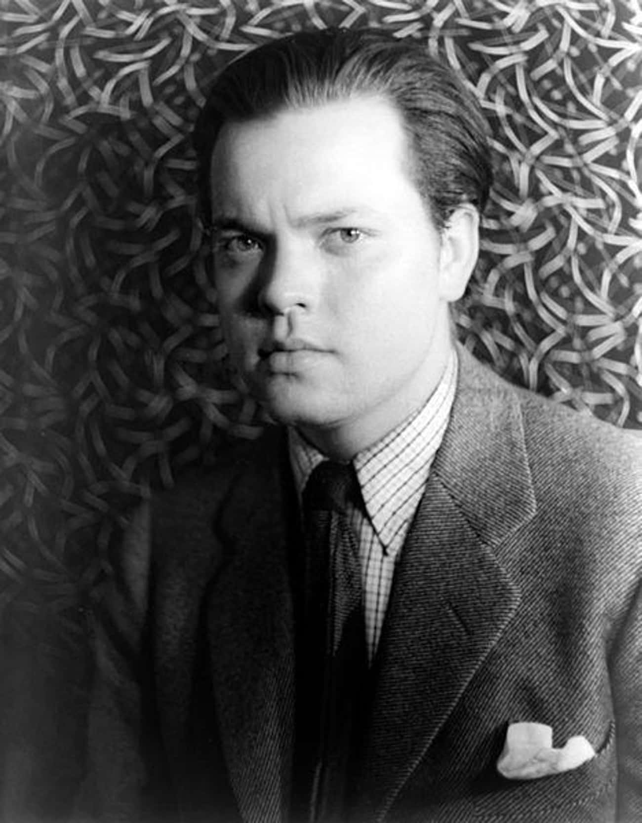 Orson Welles is listed (or ranked) 3 on the list The Craziest Things Celebrities Have Done While Drunk