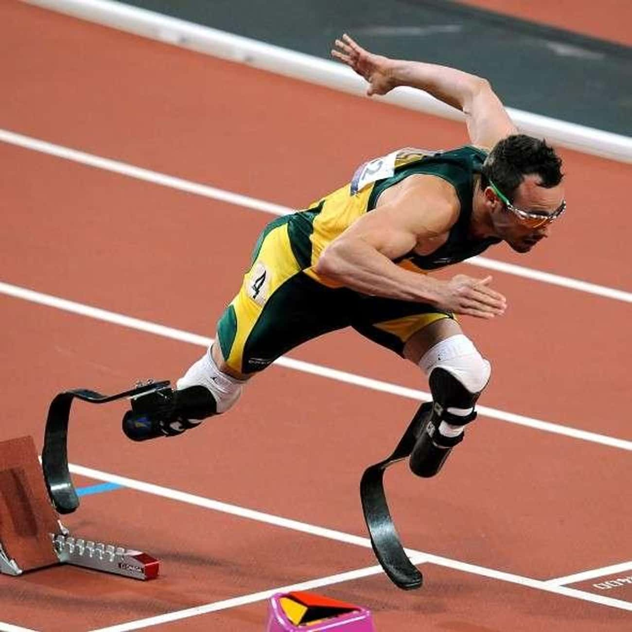 Oscar Pistorius is listed (or ranked) 1 on the list 18 Famous Athletes Who Are Disabled