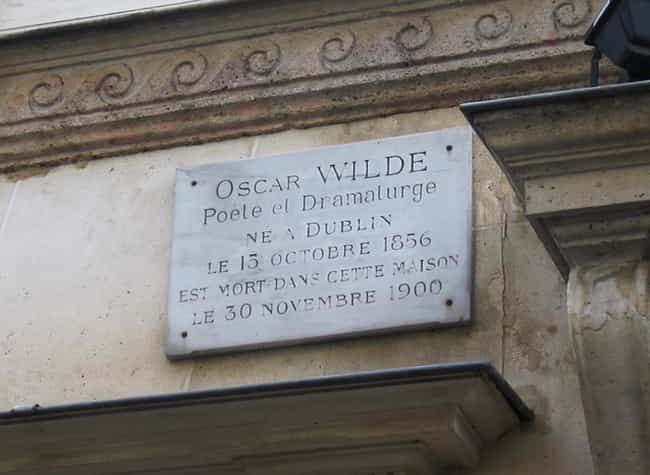 Oscar Wilde is listed (or ranked) 3 on the list 25 Celebrities Who Were Found Dead In Hotels