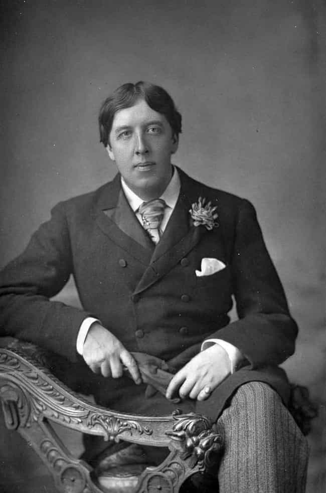 Oscar Wilde is listed (or ranked) 4 on the list 20 Famous People Who Were Widowed Young