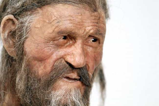 Ötzi is listed (or ranked) 2 on the list What The Most Famous Mummies Looked Like When They Were Alive