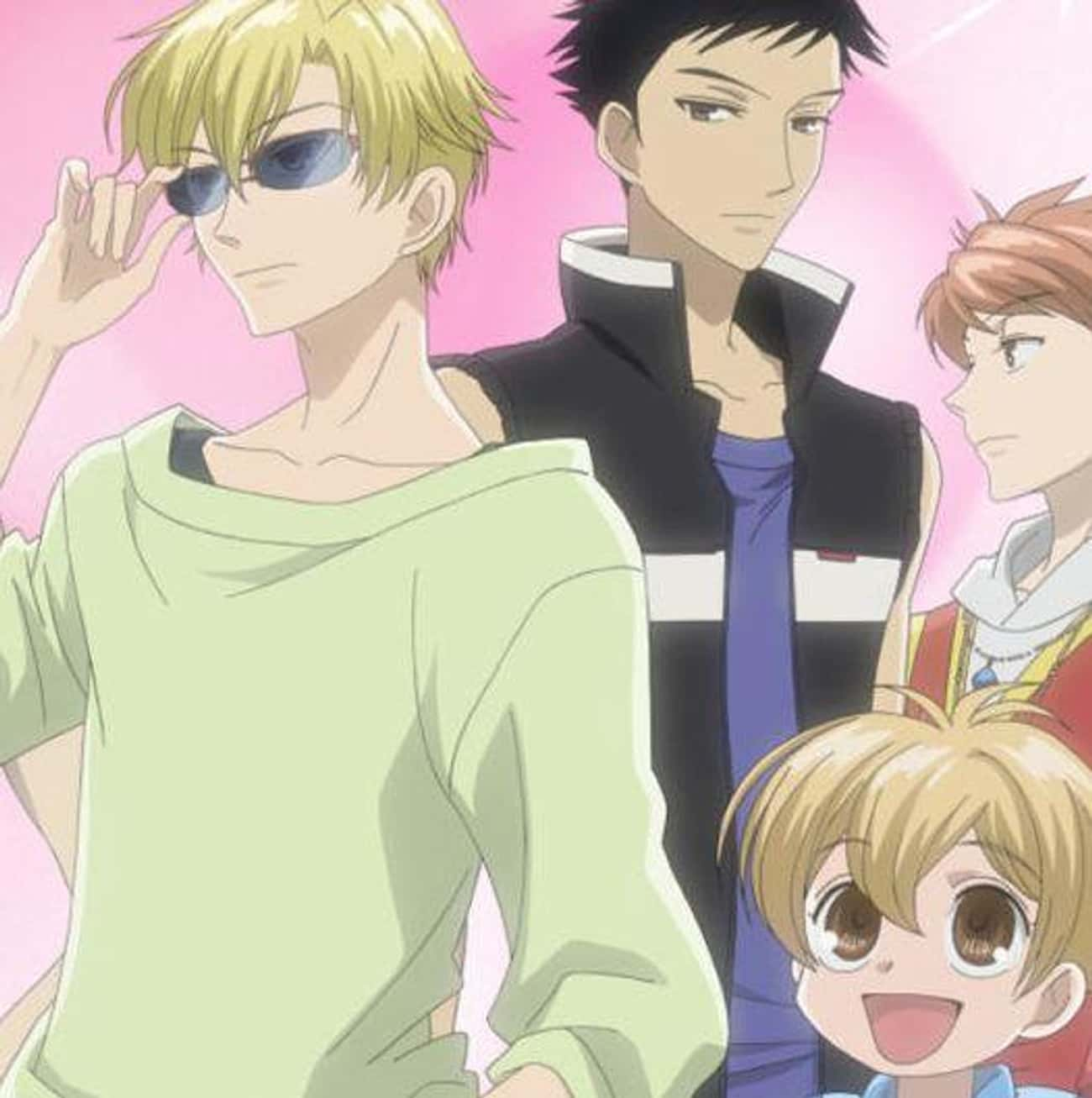 Ouran High School Host Club is listed (or ranked) 3 on the list 14 Anime With The Best Fashion