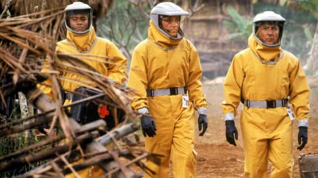 Outbreak is listed (or ranked) 4 on the list 12 Pretty Accurate Movies About Pandemics