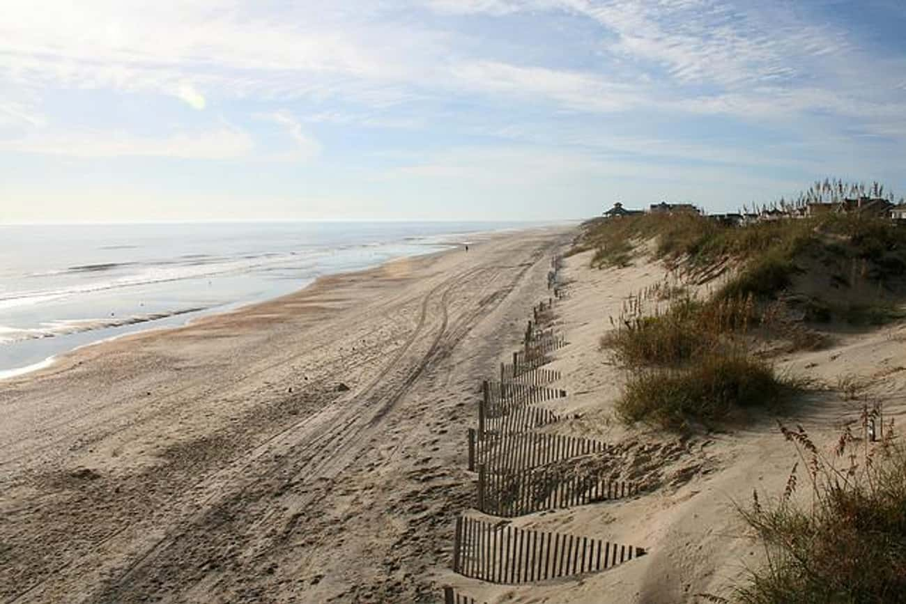 Outer Banks is listed (or ranked) 4 on the list The Best Beaches in the South