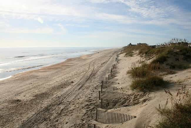 Outer Banks is listed (or ranked) 3 on the list The Best Beaches in the South