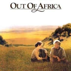 Out of Africa is listed (or ranked) 19 on the list The Worst Best Picture-Winning Films
