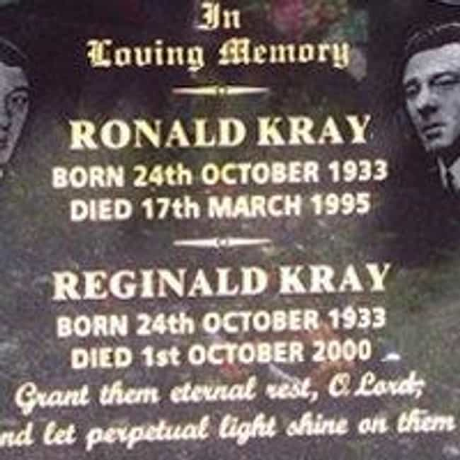 Reginald Kray is listed (or ranked) 3 on the list Famous Male Gangsters