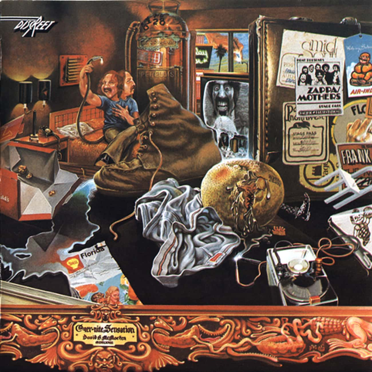 Over-Nite Sensation is listed (or ranked) 3 on the list The Best Mothers Of Invention Albums of All Time