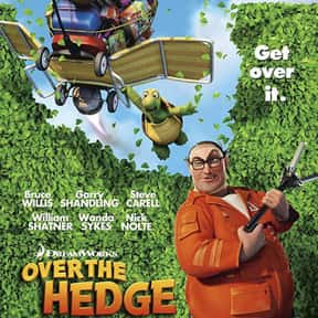 Over the Hedge is listed (or ranked) 19 on the list The Greatest Animal Movies Ever Made