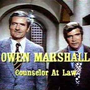 Owen Marshall: Counselor at La is listed (or ranked) 2 on the list Lee Majors TV Show/Series Credits
