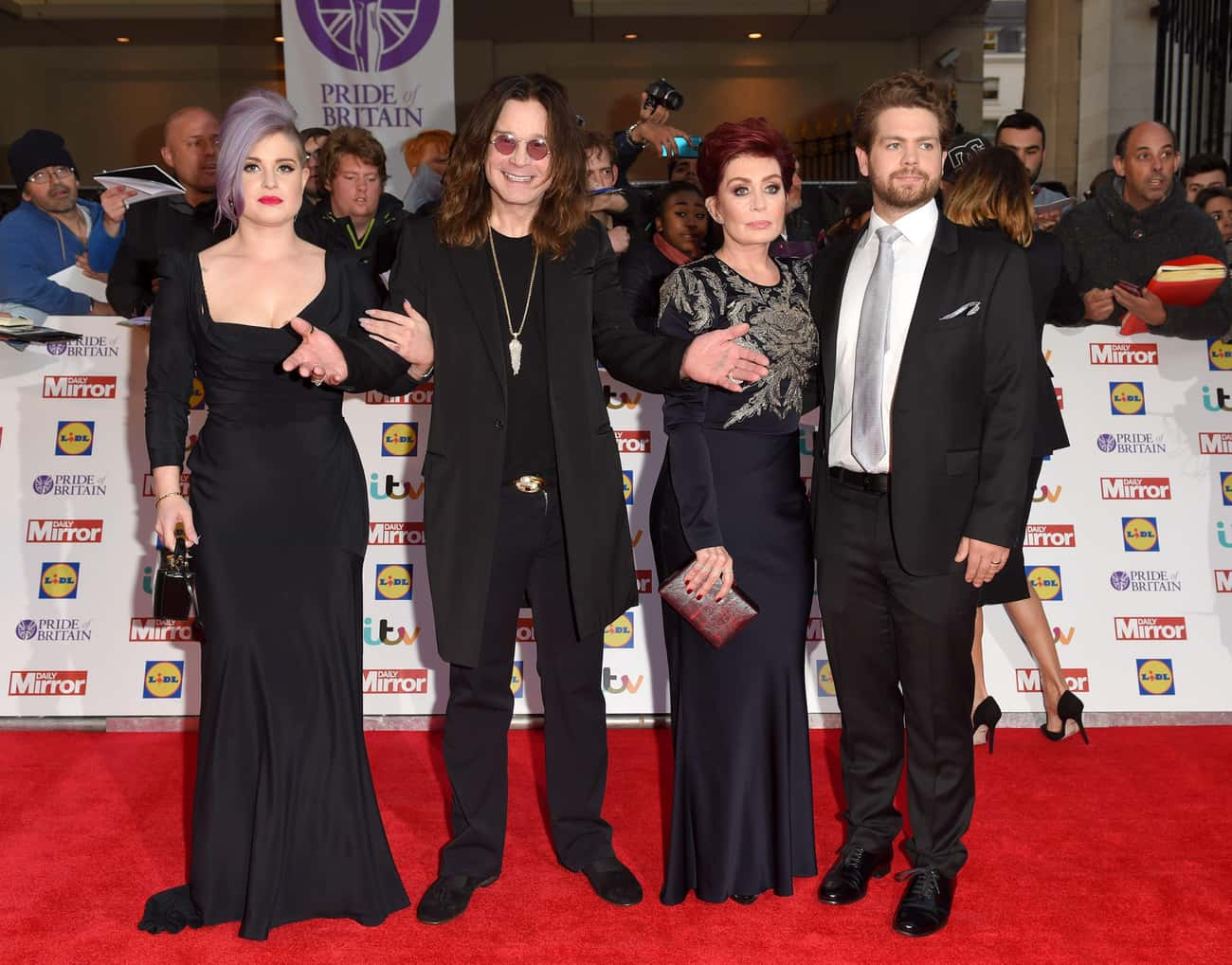 Ozzy Osbourne is listed (or ranked) 2 on the list Rock Stars with the Most Kids
