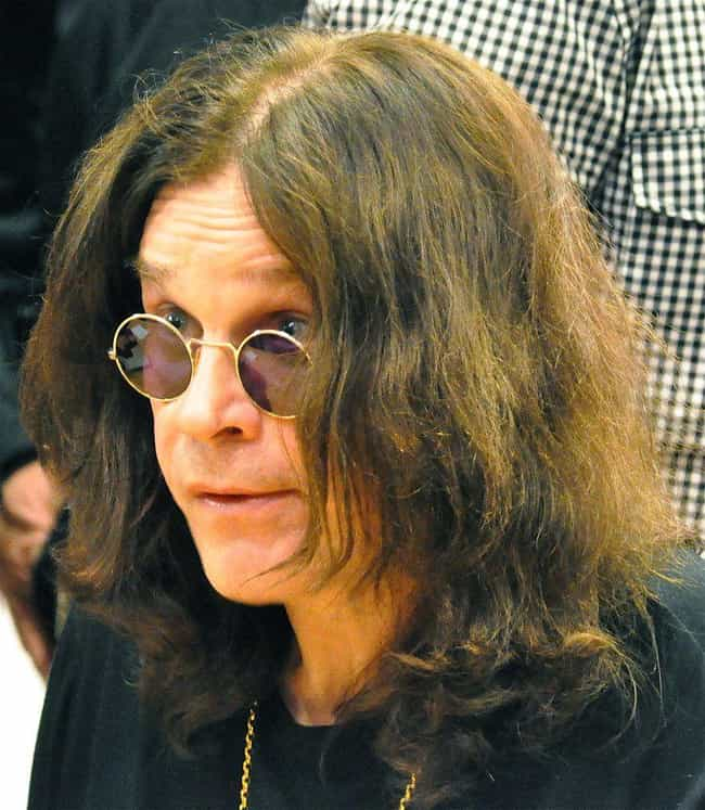 Ozzy Osbourne is listed (or ranked) 4 on the list 18 Celebrities Who Have Been in a Coma