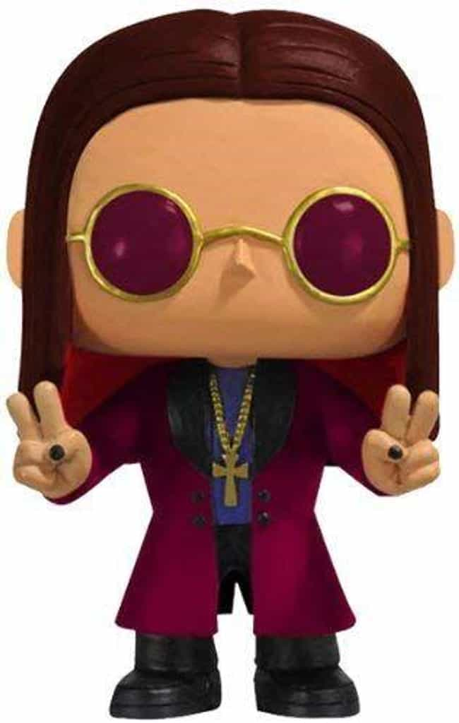 Ozzy Osbourne is listed (or ranked) 2 on the list The Hardest Hard Rock And Metal Band Funko Pops