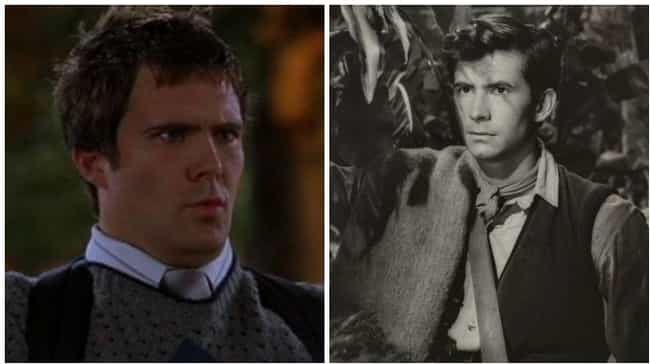 Oz Perkins And Anthony Perkins At Age 27