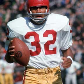 O. J. Simpson is listed (or ranked) 5 on the list The Best USC Trojans Players of All Time