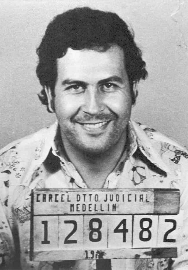 Pablo Escobar is listed (or ranked) 2 on the list 10 Surprising Acts of Kindness From Brutal Mafia Leaders
