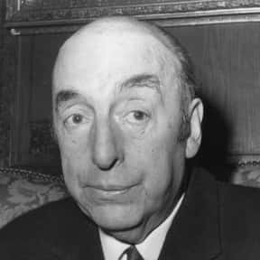 Pablo Neruda is listed (or ranked) 17 on the list The Greatest Poets of All Time