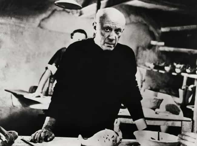 Pablo Picasso is listed (or ranked) 3 on the list Weird Personal Quirks of Historical Artists