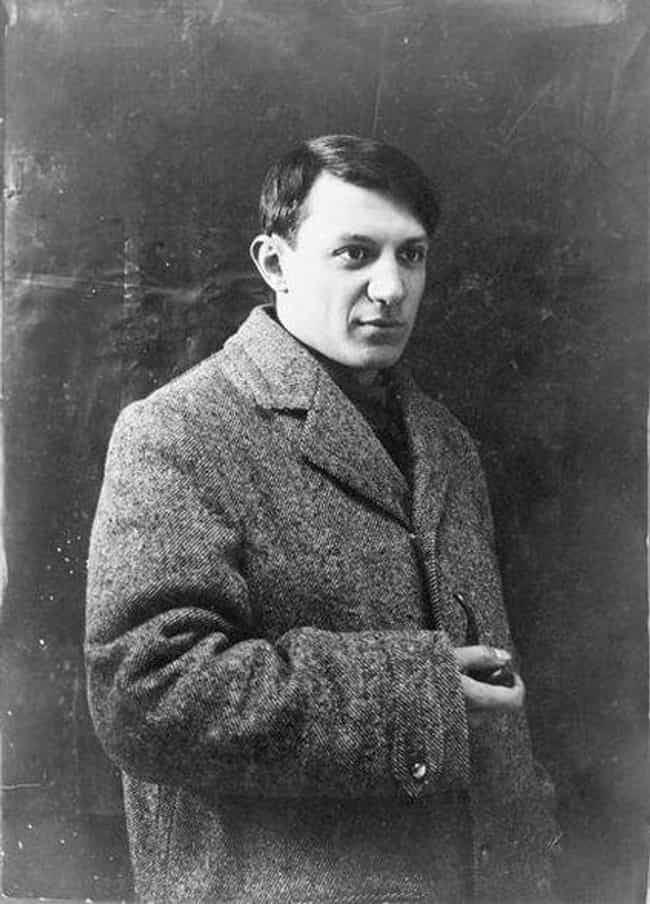 Pablo Picasso is listed (or ranked) 4 on the list 14 Suave Playboys From Throughout History Who Are Actually Total Scumbags