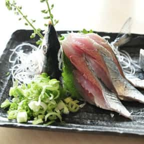 Pacific Saury is listed (or ranked) 21 on the list The Best Fish for Sushi