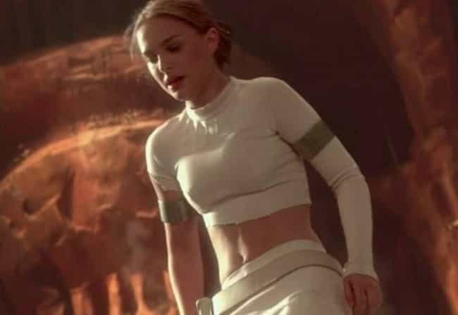 Padmé Amidala is listed (or ranked) 1 on the list 14 Times Female Action Stars' Clothes Ripped Off In A Sexy Way