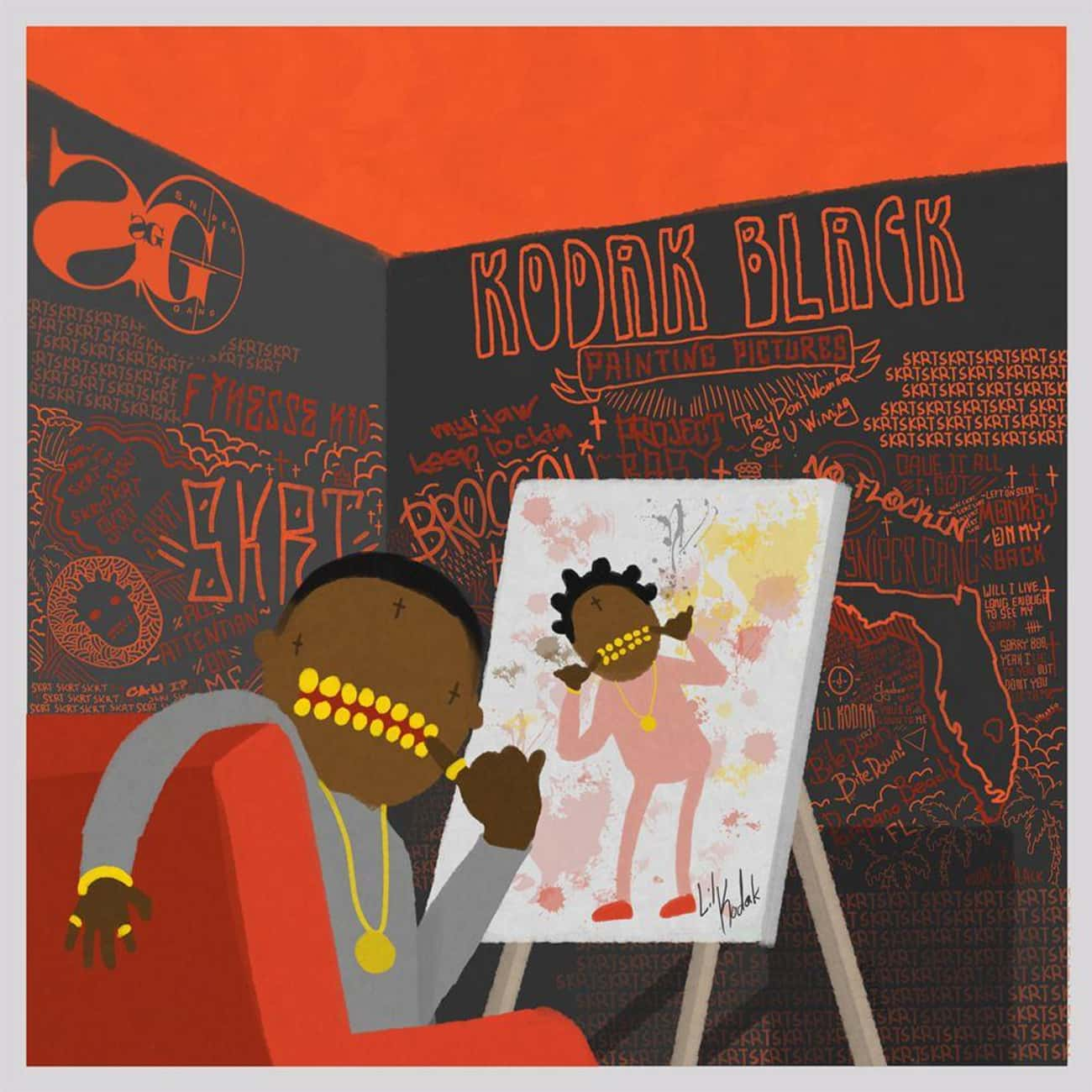 Painting Pictures is listed (or ranked) 2 on the list The Best Kodak Black Albums, Ranked
