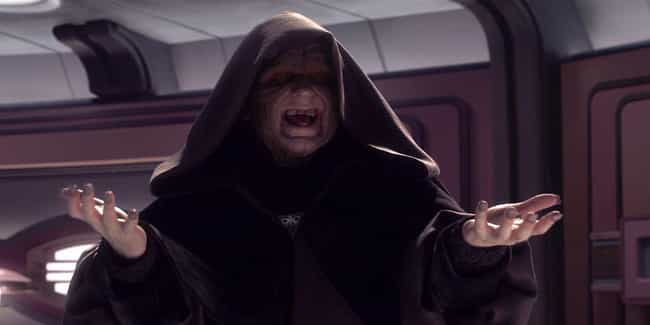 Palpatine is listed (or ranked) 6 on the list Which Jedi Or Sith Would Win In An All-Out Battle?
