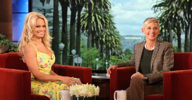 Pamela Anderson is listed (or ranked) 3 on the list Famous Friends of Ellen DeGeneres
