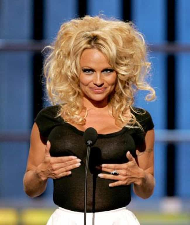Pamela Anderson is listed (or ranked) 1 on the list 28 Celebrities Who Are Proud of Their Breast Implants