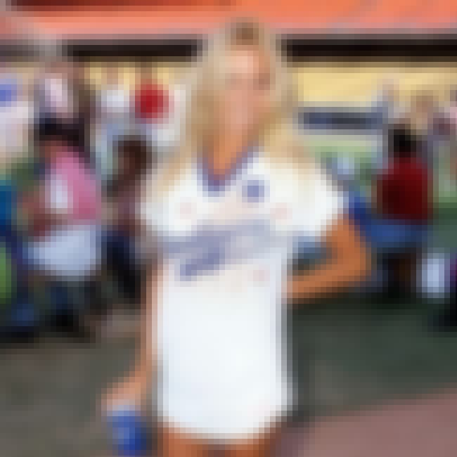 Pamela Anderson is listed (or ranked) 3 on the list Celebrity Dodger Fans