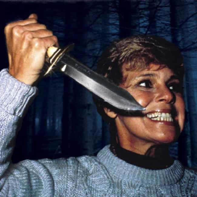 Pamela Voorhees is listed (or ranked) 5 on the list The Meanest Movie Mothers of All Time