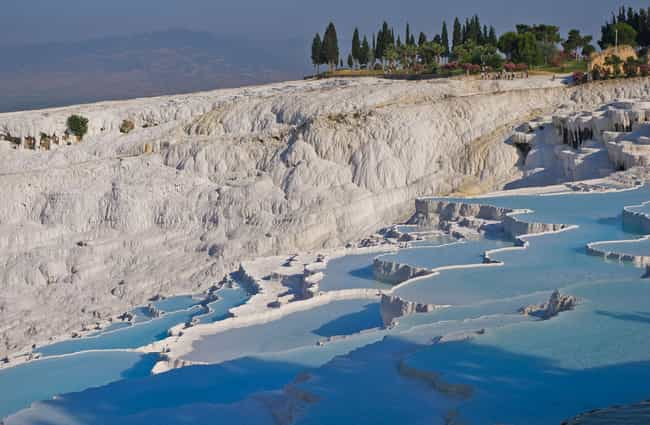 Pamukkale is listed (or ranked) 3 on the list The World's Most Unreal Geological Formations