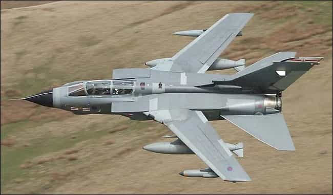 Panavia Tornado is listed (or ranked) 4 on the list Planes Used By Royal Saudi Air Force