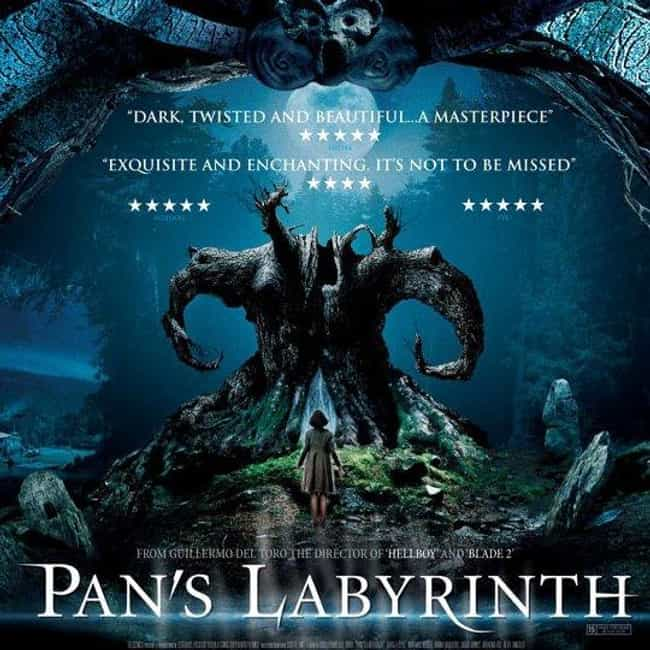 Pan's Labyrinth is listed (or ranked) 4 on the list The Best Fantasy Movie Posters