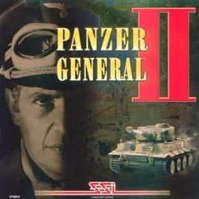 Panzer General II is listed (or ranked) 2 on the list The Best Video Games Set In WW2