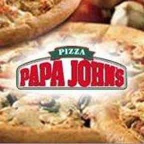 Papa John's Pizza is listed (or ranked) 5 on the list The Greatest Pizza Delivery Chains In The World