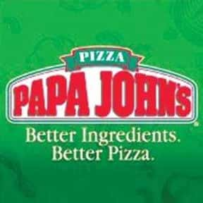 Papa John's Pizza is listed (or ranked) 7 on the list The Best Pizza Places