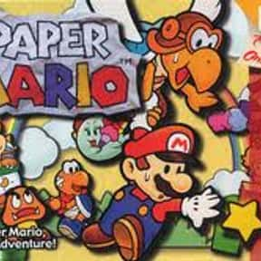 Paper Mario is listed (or ranked) 2 on the list The Best Nintendo 64 RPGs