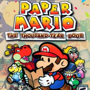 Paper Mario: The Thousand-Year is listed (or ranked) 4 on the list The Best GameCube RPGs of All Time, Ranked by Fans