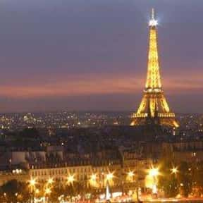 Paris is listed (or ranked) 10 on the list The Best Honeymoon Destinations
