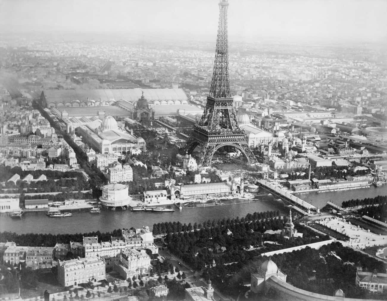 Paris, 1889 is listed (or ranked) 2 on the list Stunning Aerial Photography of Early Cities Like You've Never Seen Them Before